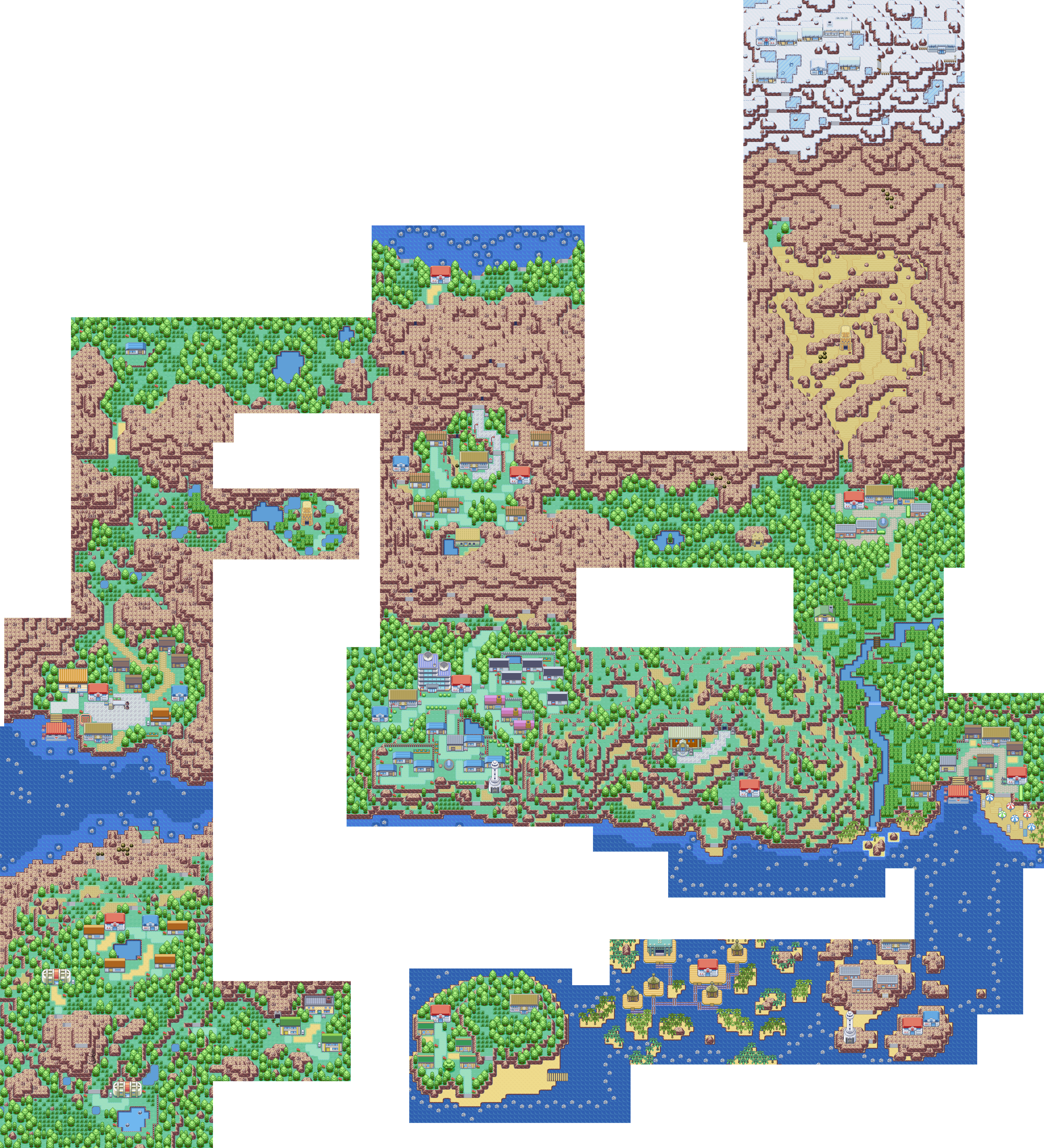 Pokémon-Map: Die Joka-Region Jubiläumsmap