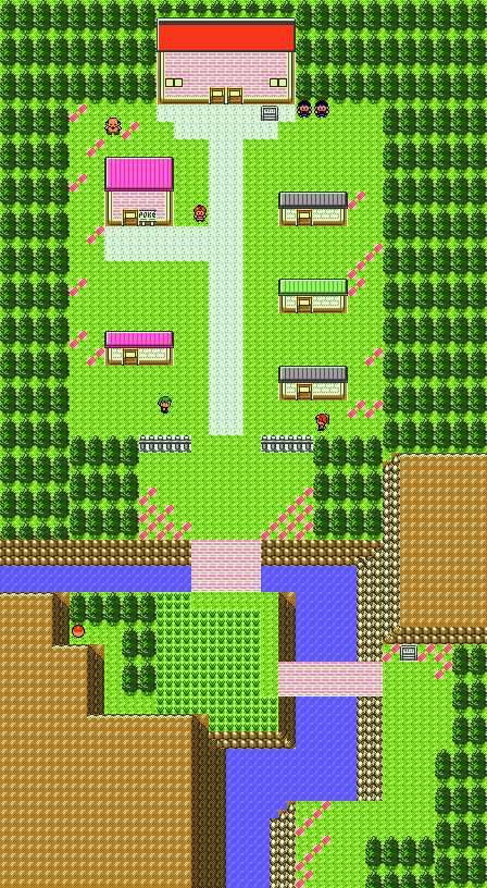Pokémon-Map: Route 48 + Retro Safari