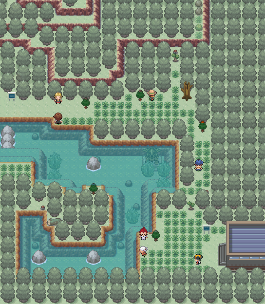 Pokémon-Map: Waldquell