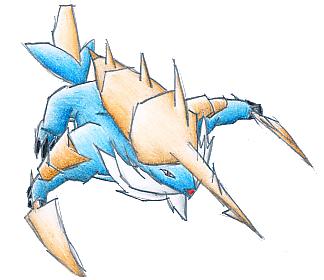 Pokémon-Zeichnung: Admurai