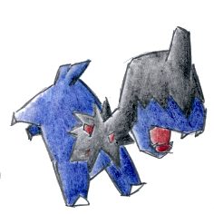 Pokémon-Zeichnung: Kapuno(Auftrag)