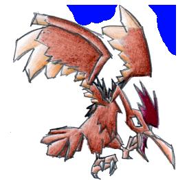 Pokémon-Zeichnung: Ibitak
