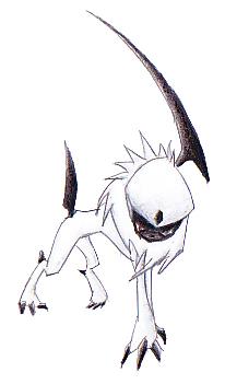 Pokémon-Zeichnung: Absol(Version 2)