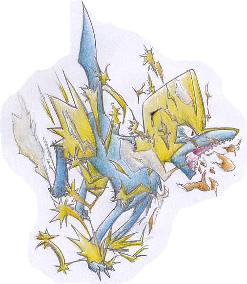 Pok�mon-Zeichnung: Auftrag: Voltenso