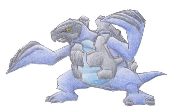 Pokémon-Zeichnung: 565 -- Karippas