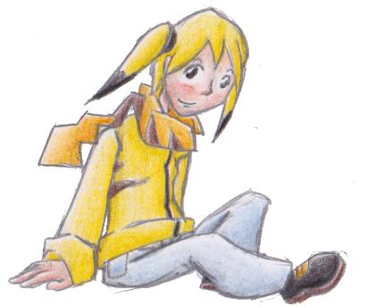 Pokémon-Zeichnung: Pikachu - Gjinka