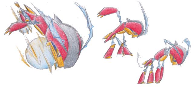 Pokémon-Zeichnung: Fakemon: Accelent