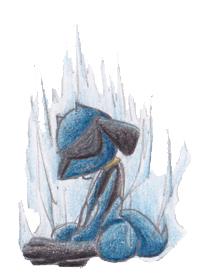 Pokémon-Zeichnung: Riolu