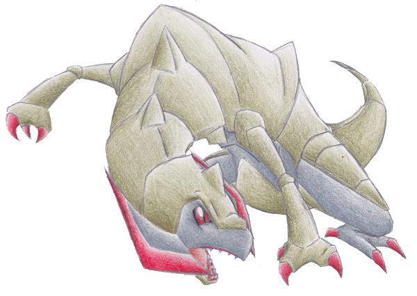 Pokémon-Zeichnung: Maxax