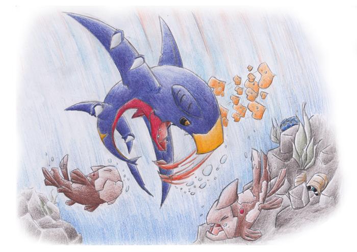 Pokémon-Zeichnung: Auftrag von Livolt: Urai