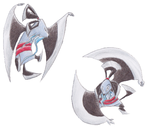 Pokémon-Zeichnung: Fakemon: Senmyo