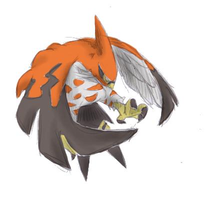 Pokémon-Zeichnung: Fiaro