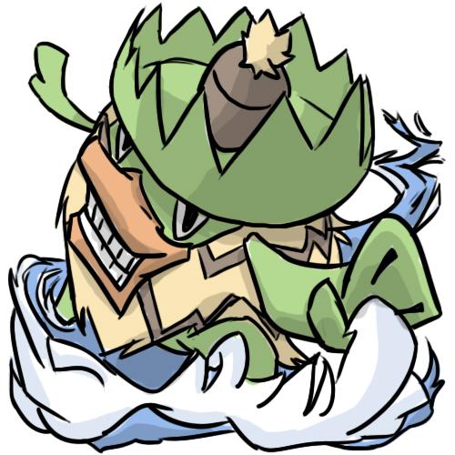 Pokémon-Zeichnung: König der Wellen