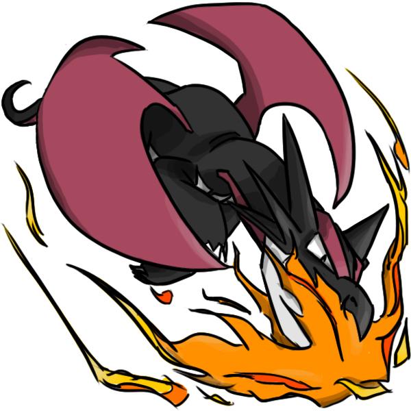 Pokémon-Zeichnung: Avatar-Auftrag: Schwarzes Brutalanda
