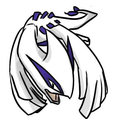 Pokémon-Zeichnung: Lugia