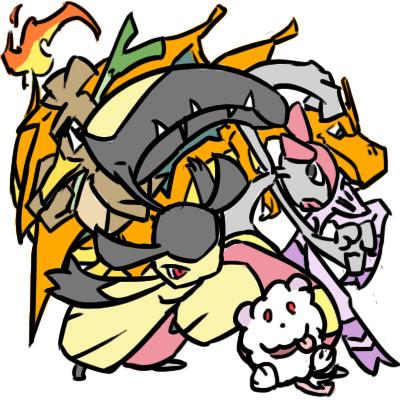 Pokémon-Zeichnung: Meine Favoriten
