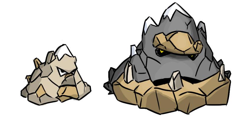 Pokémon-Zeichnung: Alperg -> Glazierra