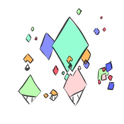 Pokémon-Zeichnung: Fakemon - Pixelf