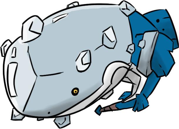 Pokémon-Zeichnung: Mega-Wailord