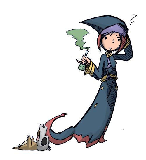Pokémon-Zeichnung: ORAS-TEAM: Vipitis