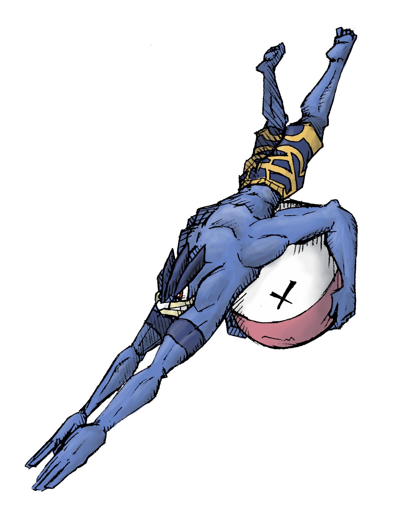 Pokémon-Zeichnung: Alola-Machomei(Was wäre wenn...?)