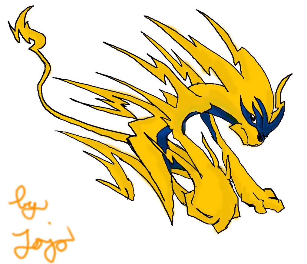 Pokémon-Zeichnung: EdP#3 by Jojo(schön wär´s