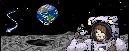 Pokémon-Pixelart: Astronaut