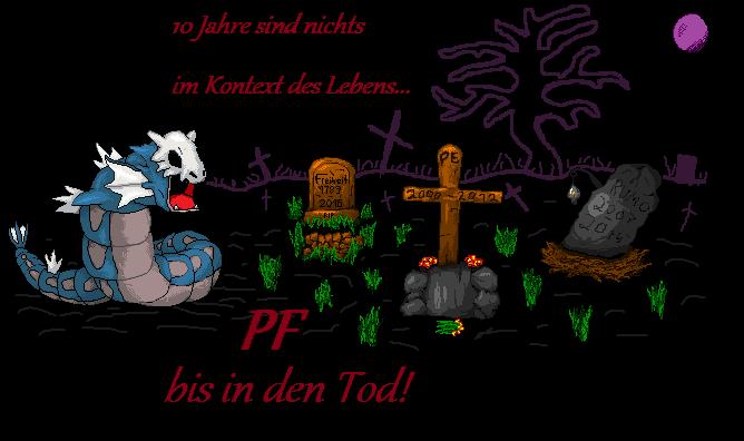 Pokémon-Pixelart: PF bis in den Tod!