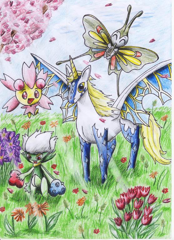Pokémon-Zeichnung: crap xD