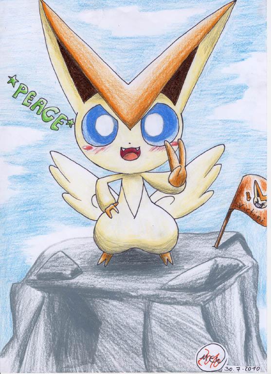 Pokémon-Zeichnung: King of the Montain