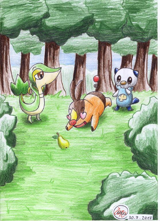 Pokémon-Zeichnung: Immer die alte Laier