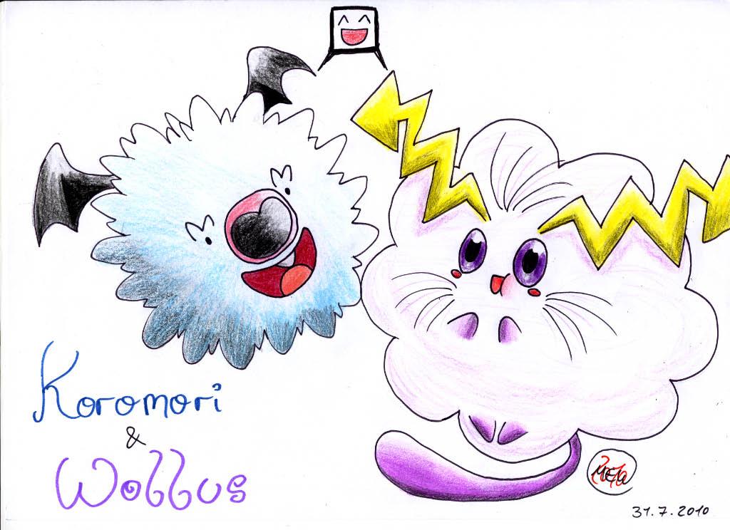 Pokémon-Zeichnung: Friends 4 Eva