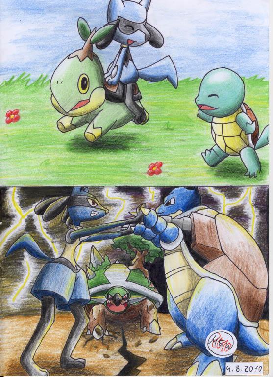 Pokémon-Zeichnung: Times Change