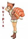 Vulpix-Gijinka