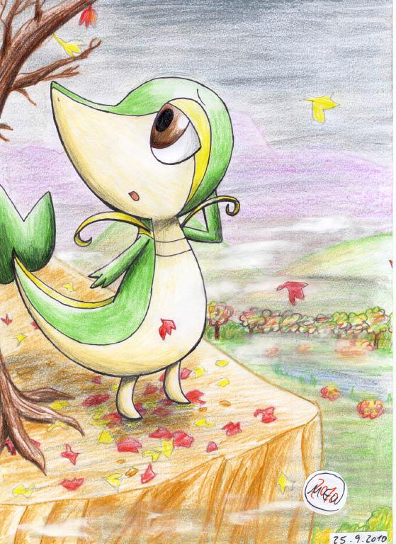 Pokémon-Zeichnung: You want to make a memory