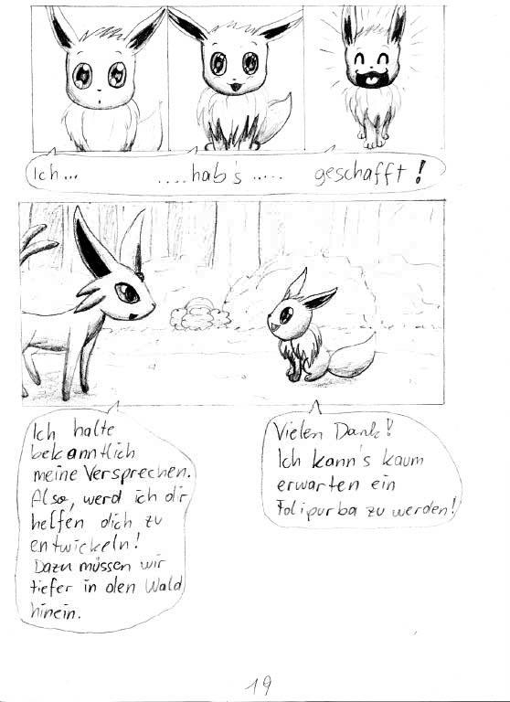 Pokémon-Zeichnung: Seite 19