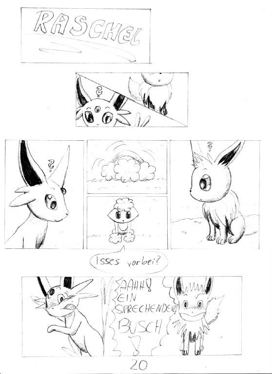 Pokémon-Zeichnung: Seite 20