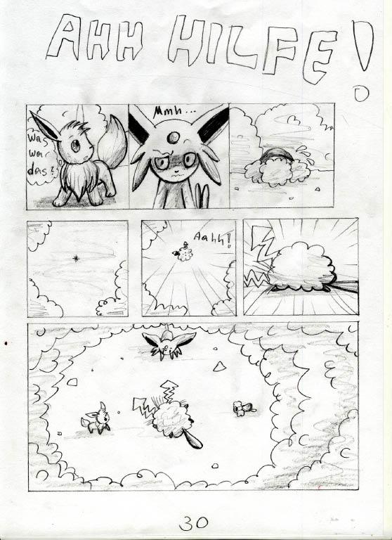 Pokémon-Zeichnung: Seite 30