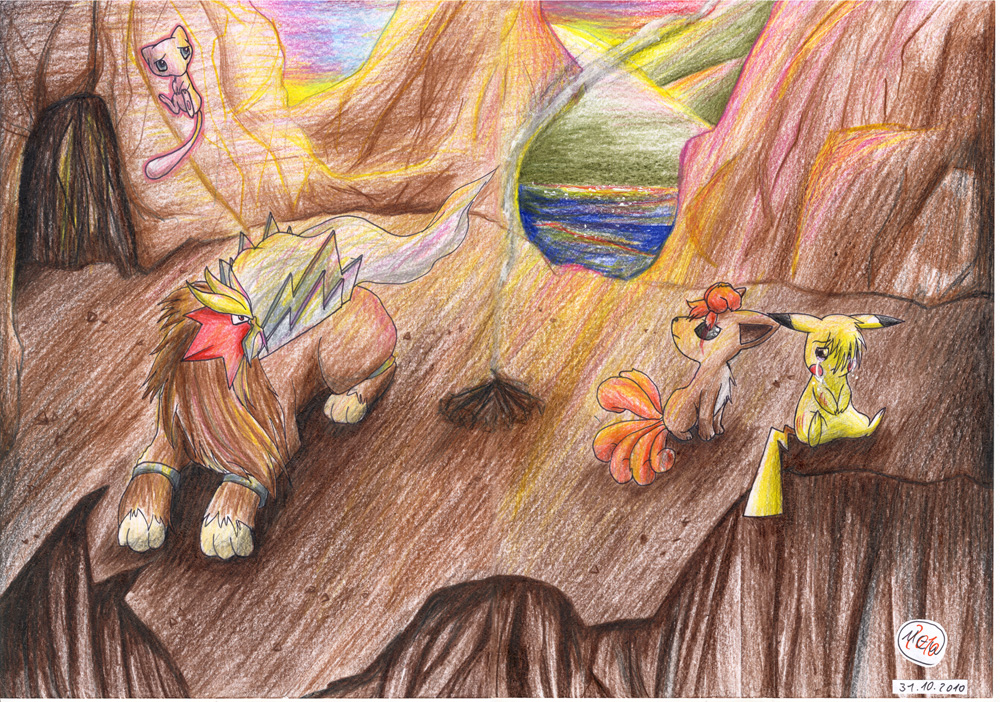 Pokémon-Zeichnung: The End Of Days