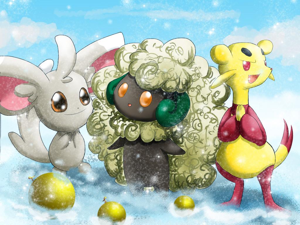 Pokémon-Zeichnung: First Time Snow