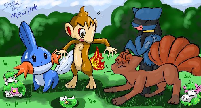 Pokémon-Zeichnung: WTF!?!?