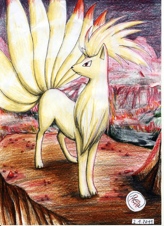 Pokémon-Zeichnung: Back to my Roots xD
