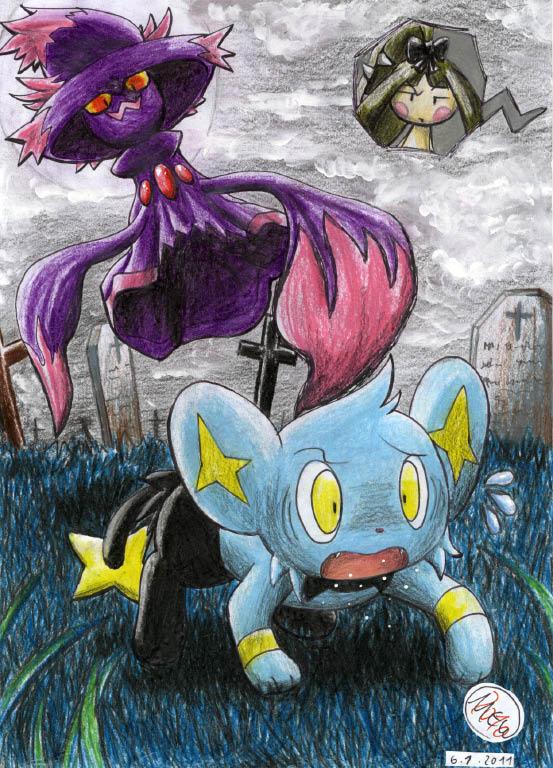 """Pokémon-Zeichnung: """"So ein Weichei...!"""""""