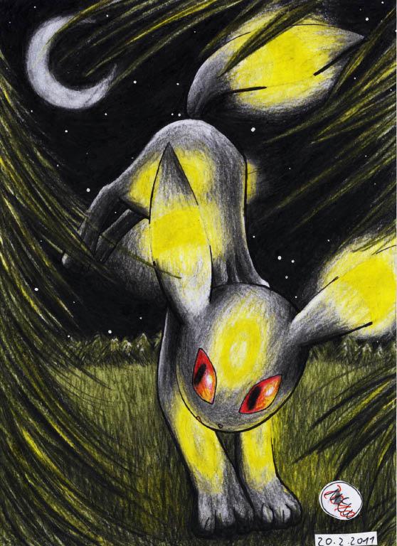 Pokémon-Zeichnung: Shadows