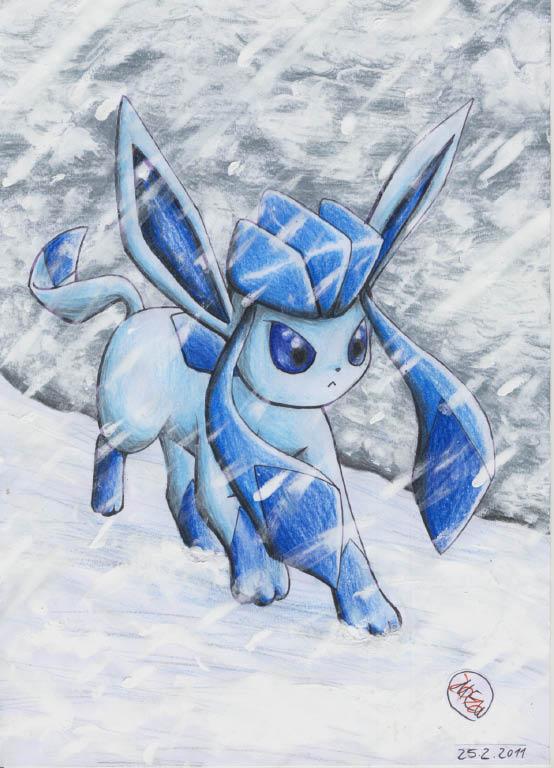 Pokémon-Zeichnung: Hab gestern noch so nen guten titel gewusst T_T