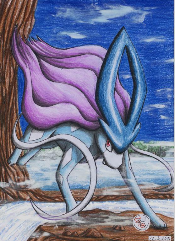 Pokémon-Zeichnung: Fog