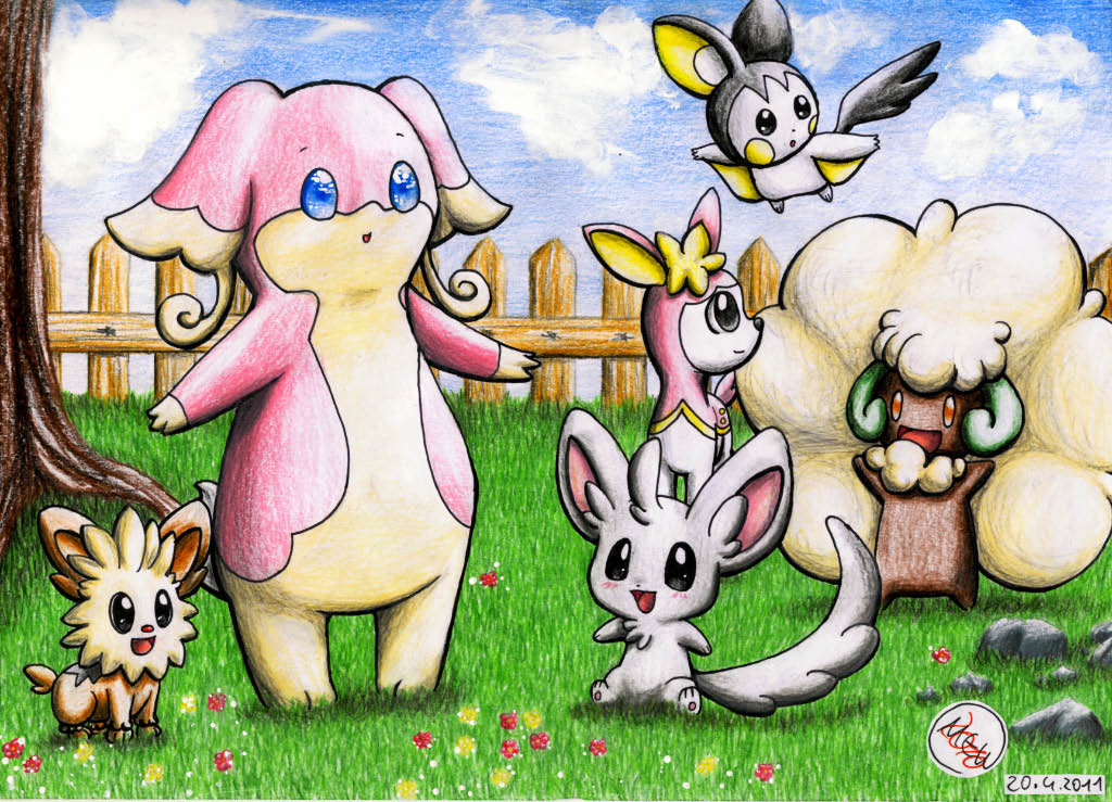 Pokémon-Zeichnung: Loads of Fun