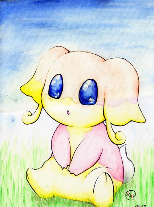 Pokémon-Zeichnung: Tabunne~~