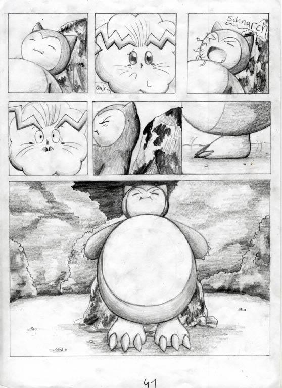 Pokémon-Zeichnung: Seite 41