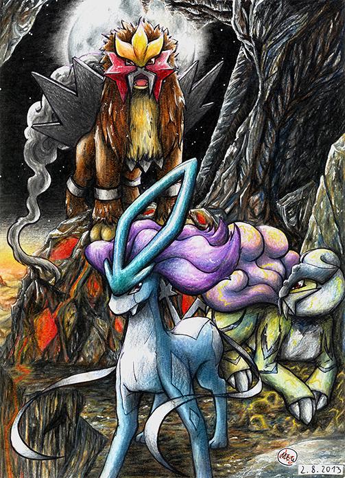 Pokémon-Zeichnung: Domination of Darkness